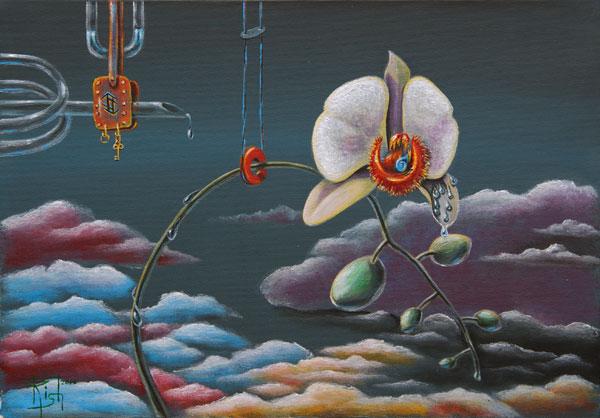 Руническая живопись Картины МАГИЯ РУН. Trish: Власть. Часть третья