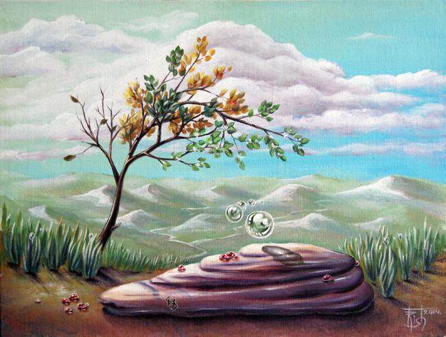 Руническая живопись Картины МАГИЯ РУН. Trish: Иллюзия судьбы